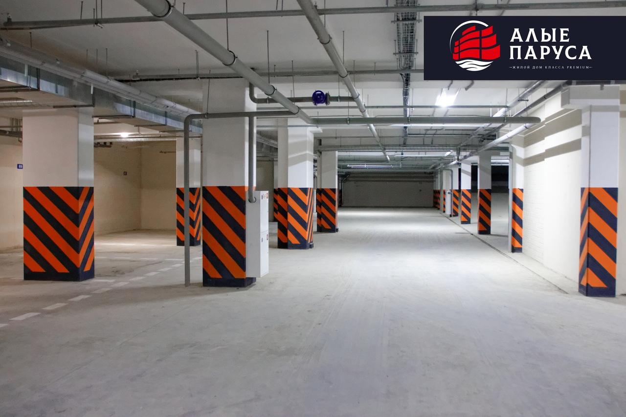 В октябре у жителей Алых парусов есть возможность приобрести места в паркинге по особым ценам!